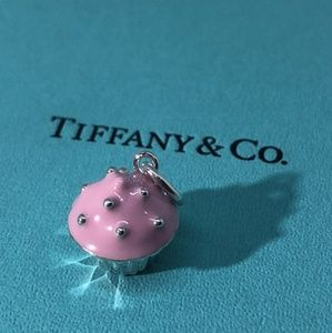 Tiffany & Co. Pink Enamel Cupcake Charm